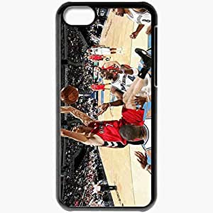 Personalized iPhone 5C Cell phone Case/Cover Skin Andrea Bargnani Toronto Basketball Hit Black