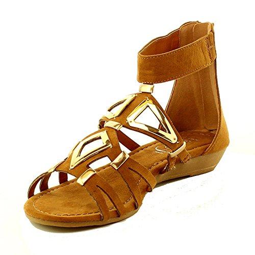 02 Women Flat Sandals - 4