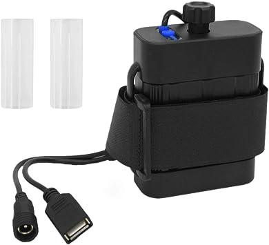 8.4V 18650 Waterproof Battery Pack Case 6 Pcs Batteries Holder Storage Box House