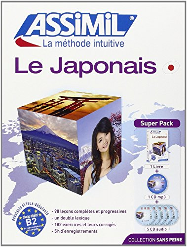 Assimil SuperPack Le Japonais sans Peine: v. I - Book + MP3 CD - Japanese for French speakers (French Edition)