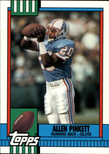 1990 Topps Football Card #221 Allen Pinkett Mint