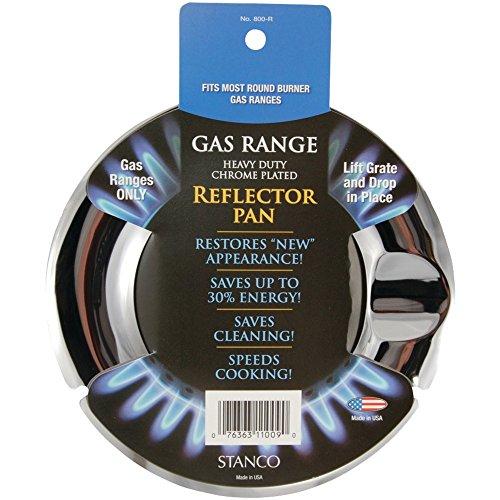 (STANCO 60080002 Chrome Gas Pan (Round) Home, garden & living)