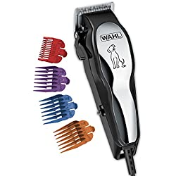 Wahl Clipper Pet-Pro Dog Grooming Kit, Quiet Heavy Duty Electric Dog Clippers For Thick, Heavy Coats, for All Breeds of Dogs and Cats - By The Brand Used By Professionals 9281-210