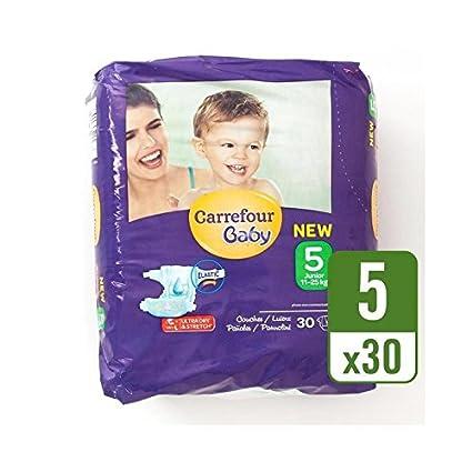 Carrefour Bebé Tamaño Ultra Seco 5 Pañales Llevan Paquete De 30 Por Paquete - Paquete de