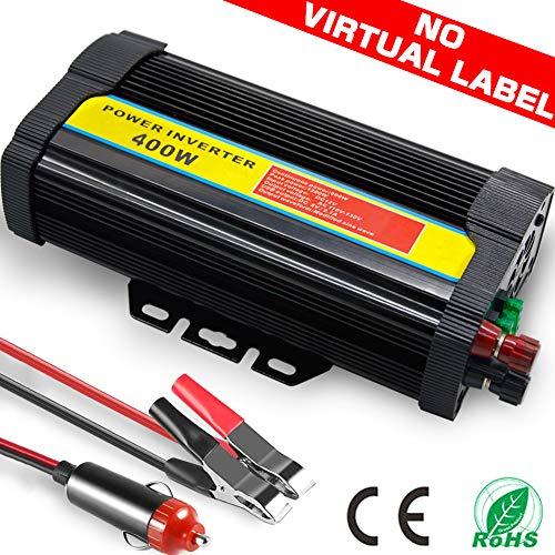 TINTON LIFE Peak 800W Heavy Duty Modified Sine Wave 12V DC To 110V AC Power Inverter
