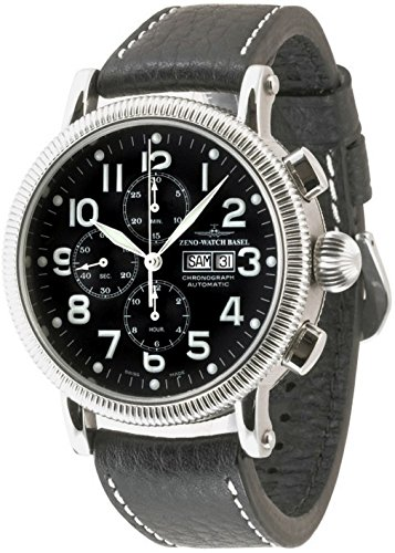 Zeno-Watch Mens Watch - Nostalgia XL Chronograph Day-Date - 88077TVDD-a1
