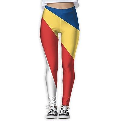Flag Of Seychelles Fashion Health Fitness Women Yoga Pants Leggings Power Flex