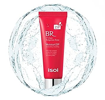 isoi – Bulgarian Rose MoisturiZIP 30g – Natural moisturizer, All day hydration for very dry and sensitive skin, natural cream and balm