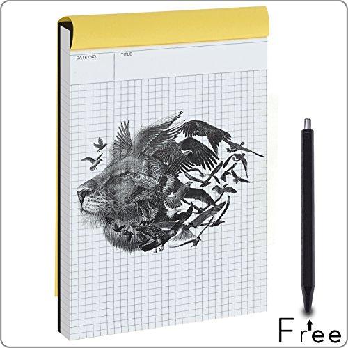 quad grid notebook - 3