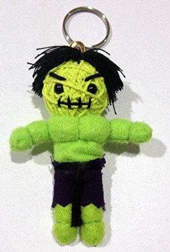 The Hulk Voodoo String Doll Keychain (String Doll Keychains)