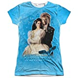 Labyrinth Fantasy Adventure Movie Dream Couple Junior 2-Sided Print T-Shirt