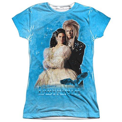 Labyrinth Fantasy Adventure Movie Dream Couple Junior 2-Sided Print (Fantasy Movie Shirt)