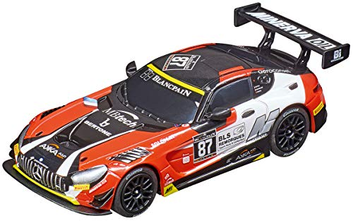Carrera 64135 Mercedes-AMG GT3 Team AKKA-ASP #87 GO!!! Analog Slot Car Racing Vehicle 1:43 Scale