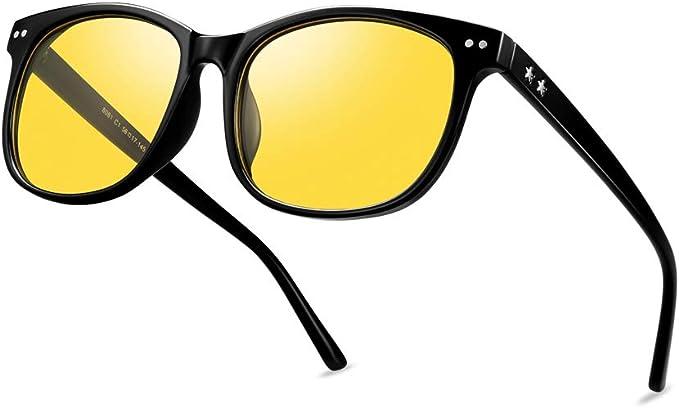 BIKIGHT Polarized Clip On Sun Glassess Men Driving Night Vision Lens Sun Glasses