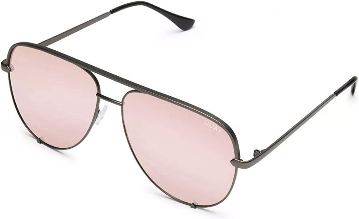 bf9558334cf4a Amazon.com  Quay Women s x Desi Perkins High Key Sunglasses ...