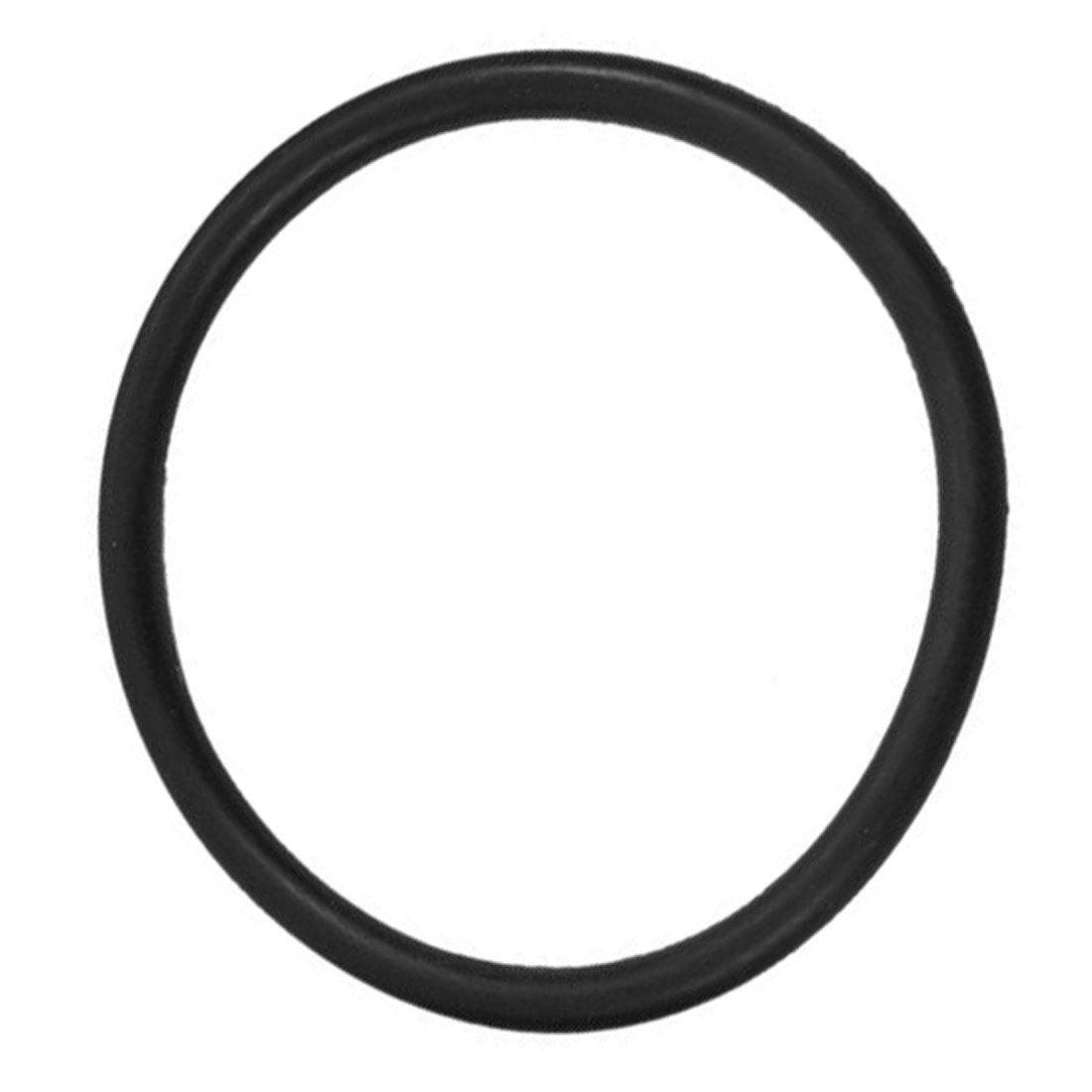 SNOWINSPRING 5 Stueck 35mm x 5mm Gummi O Ring oel Dichtung Dichtschiebe schwarz
