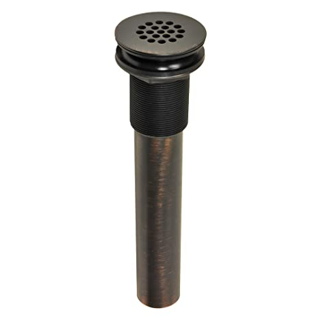 Danco 89482A Bathroom Sink Grid Drain Without Overflow, Oil Rubbed Bronze