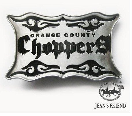 belt buckles men western cowboys cool vintage harley orange county choppers silver - Chopper Buckle