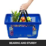 Mophorn 12PCS Shopping Basket, Retail Baskets
