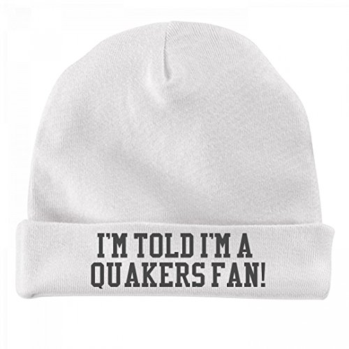 FUNNYSHIRTS.ORG Funny Baby Is A Quakers Fan!: Infant Baby Hat