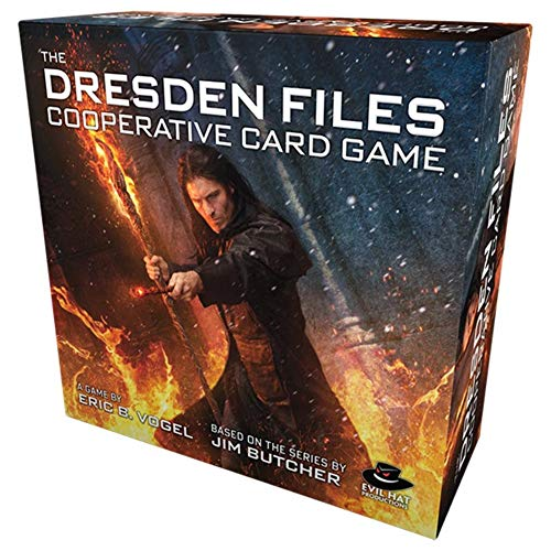 Evil Hat Productions Dresden Files Cooperative Card Game