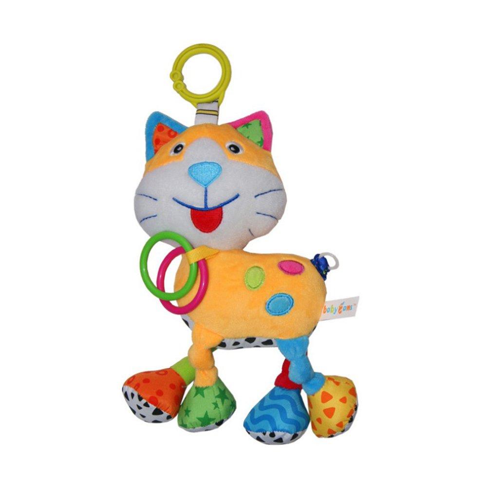 Gato TOYMYTOY Juguete sonajero bebe para cochecitos Juguetes de desarrollo de inteligencia de beb/é Cuna Cochecito Juguetes para reci/én nacido