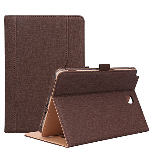 ProCase Galaxy Tab A 8.0 Case (2015 Old Model) - Standing Cover Folio Case for 2015 Galaxy Tab A Tablet (8.0 inch, SM-T350 P350) -Chocolate