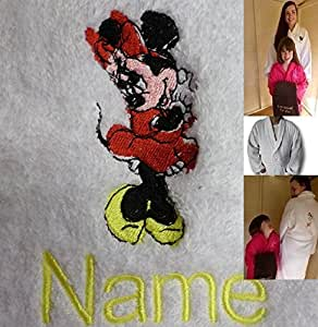Adulto del traje de baño con el Logo del ratón de MINNIE y nombre de su elección, tamaño mediano