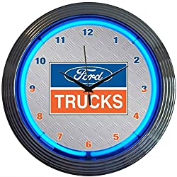 Neonetics 8FTRUC Ford Trucks Neon Clock