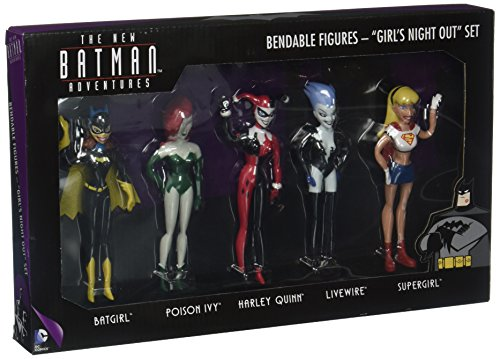 NJ Croce The New Batman Adventures Girls' Night Out Boxed Set Bendable Figure