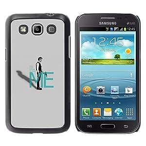 Caucho caso de Shell duro de la cubierta de accesorios de protección BY RAYDREAMMM - Samsung Galaxy Win I8550 - Recibir órdenes de mí - Han Sol0