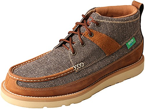 Twisted X Men's Men'S Eco twx Casual Shoes Round Toe Brown 10.5 EE by Twisted X