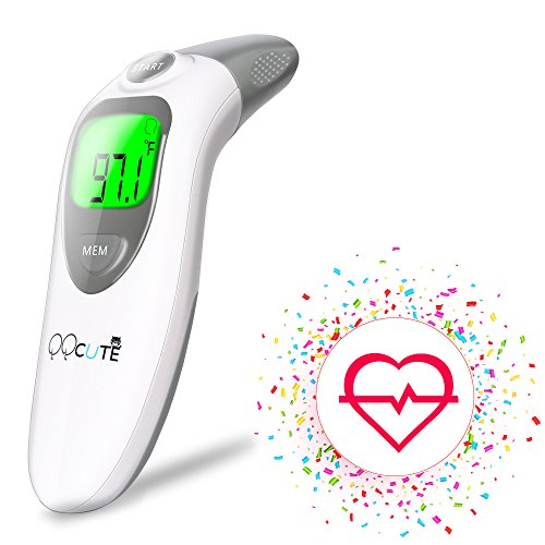 QQCute Digital Infrared Forehead Thermometer Accurate Medical (Large Image)