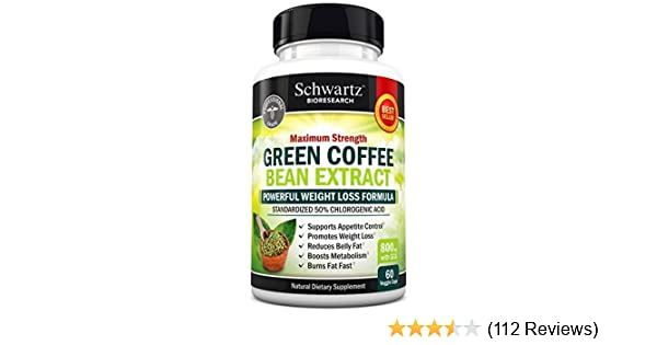 Amazon Com Green Coffee Bean Extract 800mg With Gca Extra