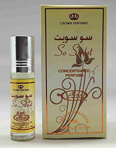 So Sweet- 6ml (.2 oz) Perfume Oil by Al-Rehab (Crown Perfumes)-3 Pack