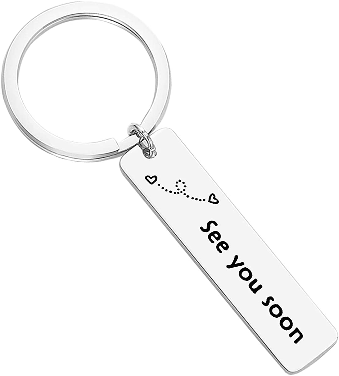Couple Keyrings Scooter Keychains Long Distance Gifts, Set of 2 Gifts BFF keychains Boyfriend girlfriend Gifts Best friend Keychain