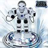 AMENON Wireless Smart Remote Control Robot Kit for Kids with Shoot Music Dance Arm-swing,2.4G Intelligent Programmable RC Robot Game