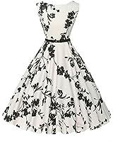 GRACE KARIN Sleeveless Classy Vintage Tea Dress...