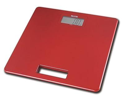 TANITA HD-357 - Básculas espesor extremadamente reducida-rojo metálico