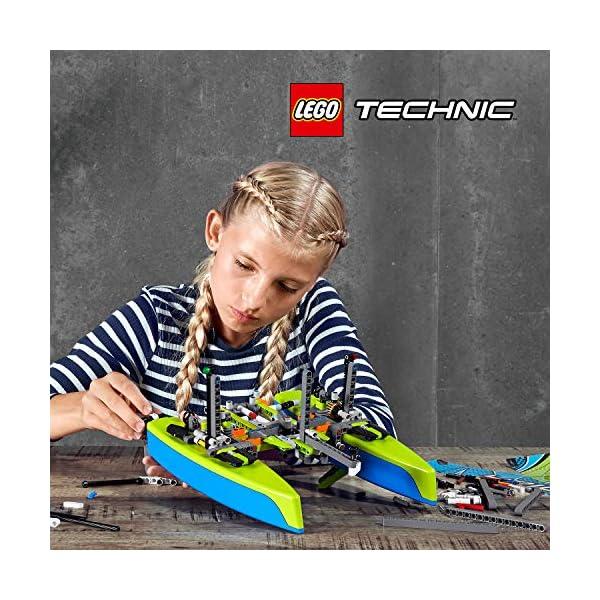 LEGO - Technic Catamarano, Set di Costruzione e Idea Regalo per Ragazzi di +8 Anni, 42105 3 spesavip
