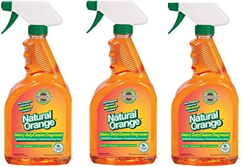 Trewax Natural Orange Heavy Duty Cleaner/Degreaser, (Natural Grease Cleaner)