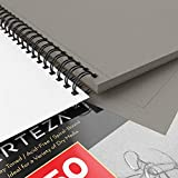 "Arteza 9X12"" Gray Toned Sketch Pad, Pack of 2, 100"