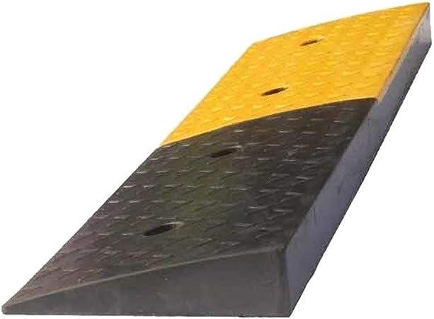 Rampas de Coches, Antideslizante bordillo Exterior rampas de Goma Estable Servicio Pesado Rampas Escalera de Mano rampas (Color : Yellow, Size : 50 * 22 * 5CM): Amazon.es: Hogar
