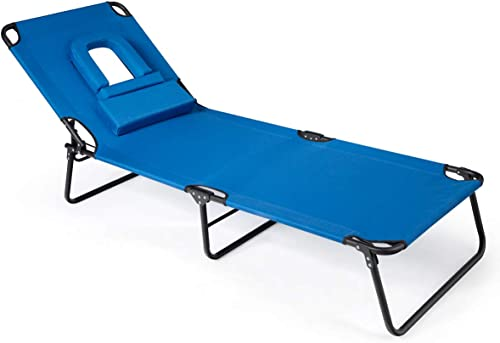 Giantex Adjustable Patio Lounge Chair
