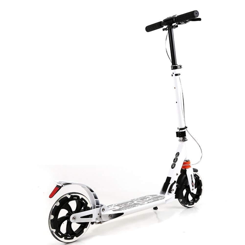 上質で快適 スクーターを蹴る子供たち : ダブルブレーキ強化スクーター、キックスクーター B07R5XZSB7、折りたたみスクーター、衝撃吸収スクーター (色 : 白 白) B07R5XZSB7 白, 金谷町:1c1ba3f2 --- 4x4.lt