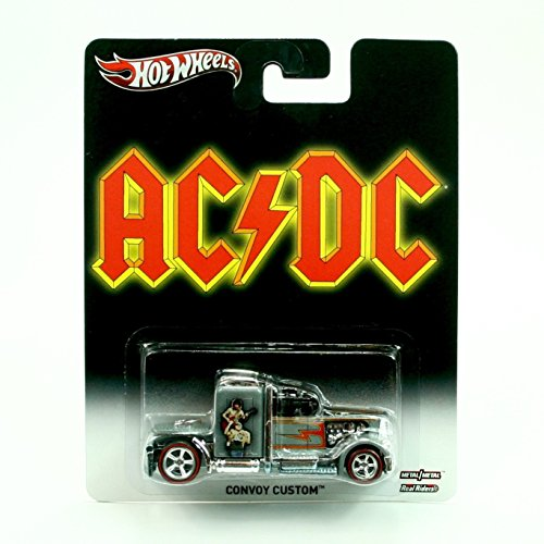 CONVOY CUSTOM AC/DC Hot Wheels 2013 Pop Culture Classic Rock Series Die-Cast Vehicle