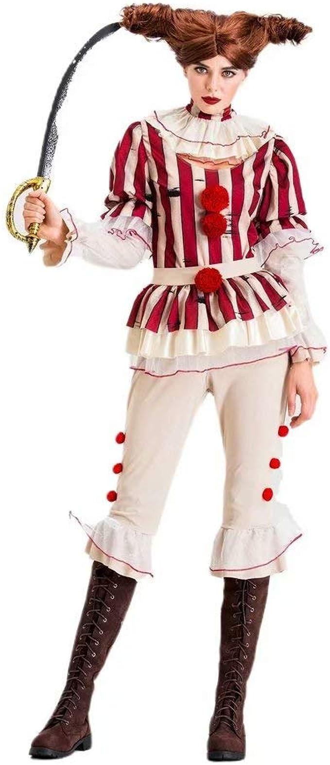 Red ROSEY Disfraz de Payaso Película Cosplay Disfraz de Halloween ...