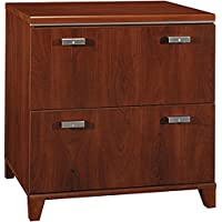 Bush 30 Lateral File Cabinet 29.724H X 29.567W X 19.724D Perfect For Private/Home Office - Hansen Cherry