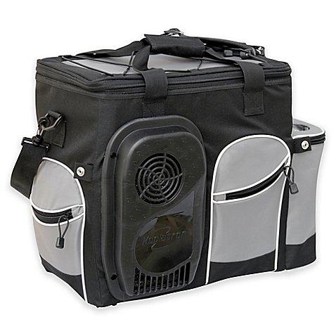 Koolatron Soft Bag Cooler in Black/Silver