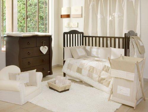 [Cream Sheeps] crib bedding Collection Accessory - Hamper / Laundry Basket